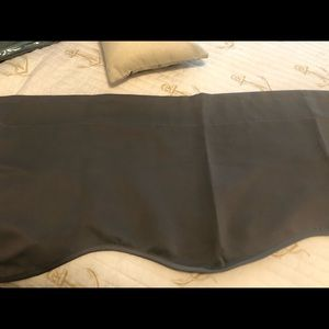Valances with sheets